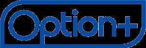 Option+ logo