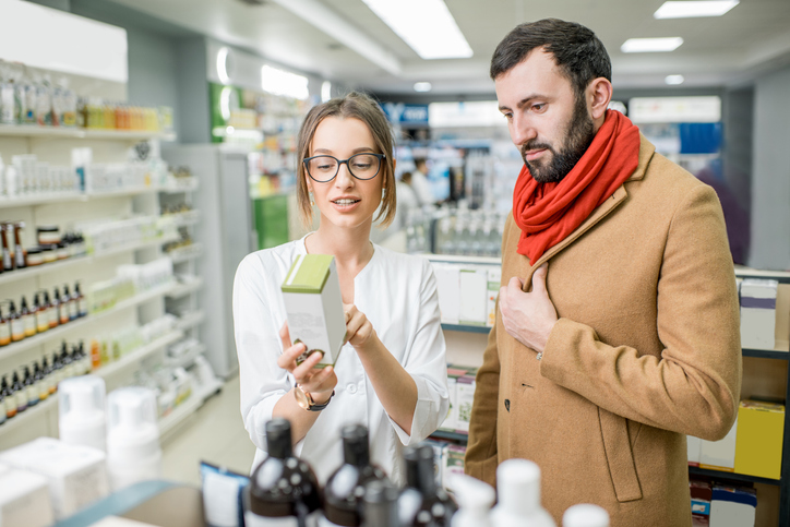 Pharmacist consultation about SAD