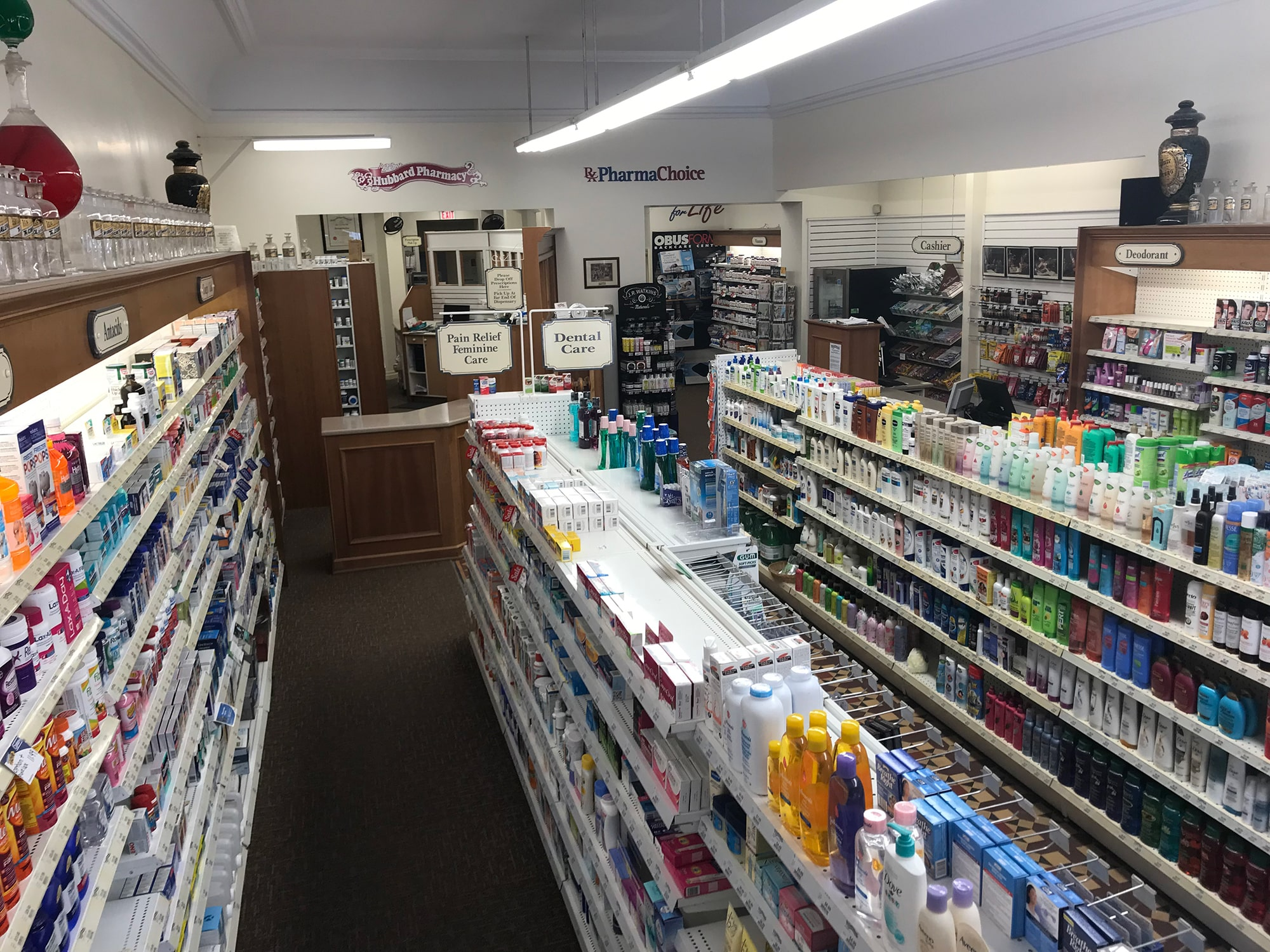 Hubbard pharmacy in Toronto