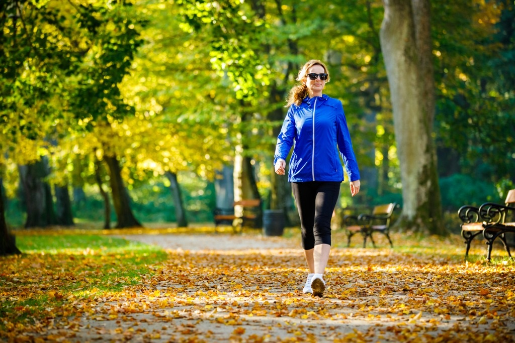 Taking a walk for a mental health break. Talk to your drugstore pharmacy about long term mental health solutions