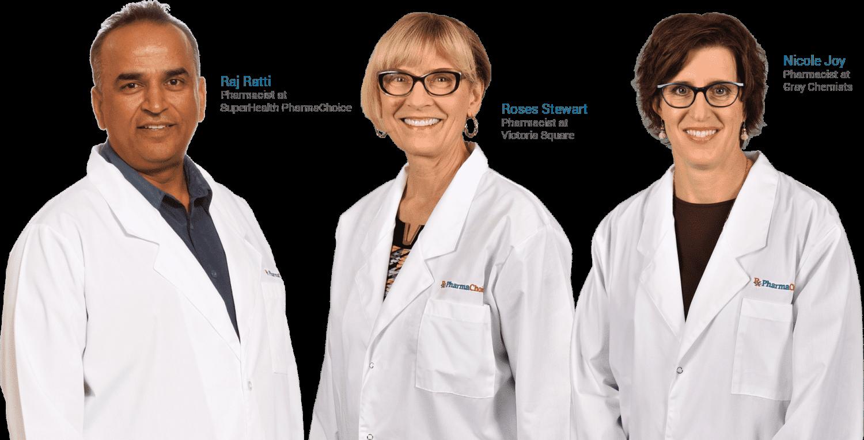 PharmaChoice Canada pharmacists